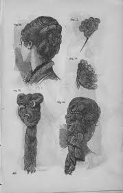 godey s book women s hairstyles colonial times unique hair pieces as seen in