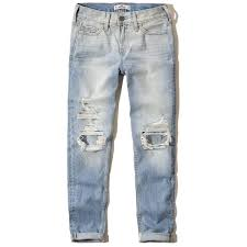 hollister light wash jeans hollister devin boyfriend jeans 30 liked on polyvore featuring