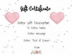 online gift certificates free online gift certificate maker no registration required