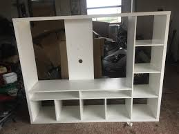 ikea white tv stand ikea white tv stand box unit in armagh county armagh gumtree