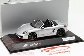 model porsche boxster ck modelcars wap0202040f porsche boxster e silver 1 43 spark