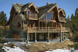 large log home floor plans log cabin with stone and large windows future home pinterest