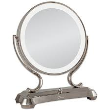 lighted magnifying makeup mirror zadro 1x 5x magnifying oversized fluorescent lighted glamour vanity