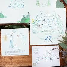 membuat undangan sendiri di rumah ingin pesta pernikahanmu berkesan 10 kartu undangan tema sketsa ini