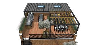 Design For Decks With Roofs Ideas Roof Deck Renovation And Modernization Lakeview Chicago