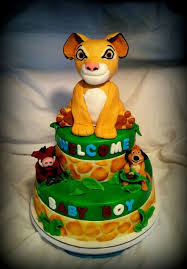 lion king themed baby shower lion king themed baby shower cake cake by angel rushing cakesdecor