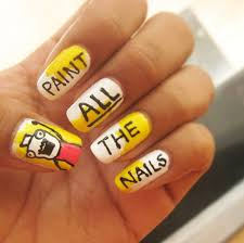 Nail Art Meme - hyperbole and a half meme nail art ideas popsugar beauty photo 6
