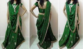 How To Draping How To Wear A Half Saree U0026 Look Stunning Saree Guide
