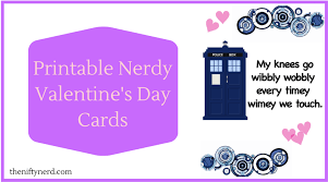 nerdy s day cards nerdy s day cards diy printables from the nifty