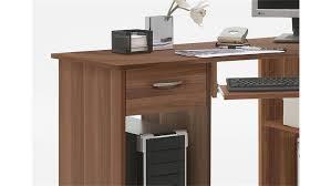 Pc Tisch Felix 1 Eck Schreibtisch Pc Tisch In Nussbaum