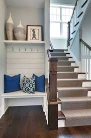 small foyer small foyer ideas with bench and cushion and laminate flooring