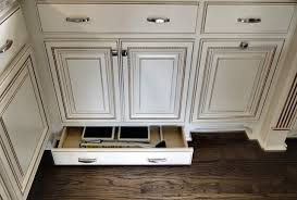 hidden step stool storage traditional kitchen other by