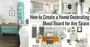 Home Decor Design Board To Create A Home Decorating Mood Board For Any Space