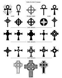 Cross Tattoos - religious and christian shapes set for photoshop and elements