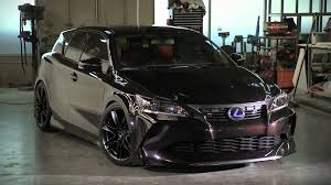 lexus ct200h lexus ct 200h five axis project 2011 chicago auto show youtube