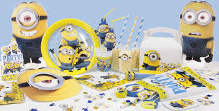 Minions Candy Buffet by Minions Party Supplies Despicable Me Party Delights