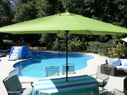 Large Umbrella For Patio Best 25 Rectangular Patio Umbrella Ideas On Pinterest Patio Set