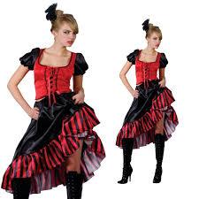 saloon womens halloween costume saloon wild west barmaid showgirl ladies fancy dress costume