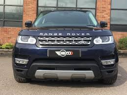 range rover blue used blue land rover range rover sport for sale leicestershire