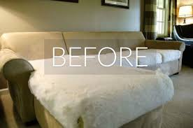How To Repair Leather Sofa Tear Hide Your Couch U0027s Wear And Tear With These 9 Ingenious Ideas