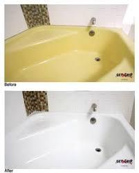 Refinish Acrylic Bathtub Acrylic Bathtub Refinishing After Diy Pinterest Bathtub