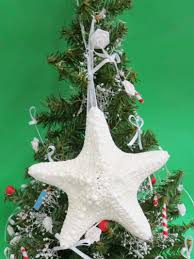 white starfish beach christmas ornament 1 00 each