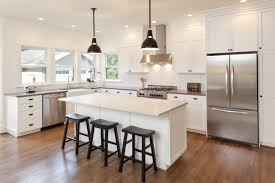 Wood Floor In Kitchen by Best Kitchen Cabinet Ideas U2013 Types Of Kitchen Cabinets To Choose