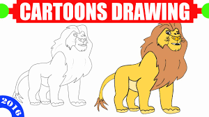 coloring charming lion simple drawing drawn 9 coloring