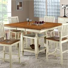square table with leaf square table with 4 chairs artcercedilla com