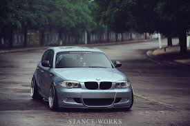 bmw m4 stanced tony lin u0027s bmw e87 1 series 5 door hatchback