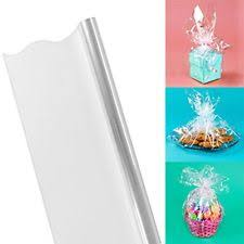 clear wrapping paper clear cellophane rolls ebay