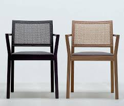 Woven Dining Chair Stackable Woven Back Dining Chairs From Wharfside Made In Austria