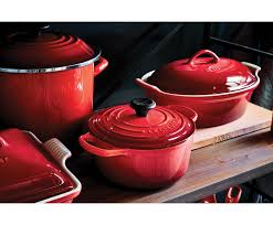 French And Dutch Flag Round Dutch Oven Le Creuset