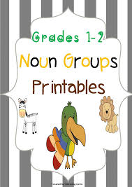 Noun Worksheet Kindergarten Expanding Noun Groups Printables No Prep K 1 Printable