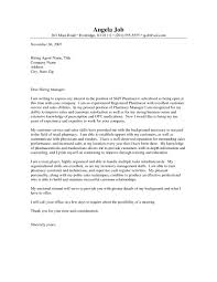 inventory manager cover letter cover letter pharmacy cover letter example