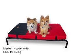Medium Sized Dog Beds Dog Bed Trampoline Pet Bed Large Combo Mat Cushion Flea Free Frame