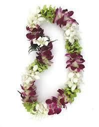 hawaiian leis fresh hawaiian colorful mixed orchid