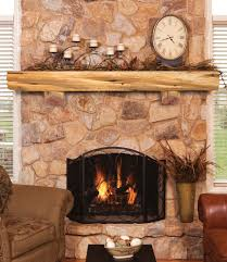 cedar fireplace mantel binhminh decoration