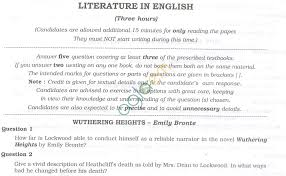 isc question papers 2013 for class 12 u2013 literature in english