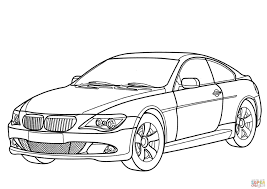 bmw 6 series coloring page free printable coloring pages