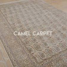 Modern Silk Rugs Modern Silk Paisley Area Rug Camel Carpet