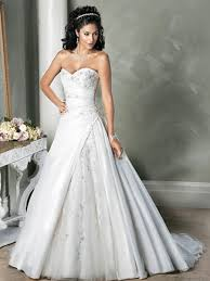 sweetheart wedding dresses gorgeous applique sweetheart working tulle satin chapel
