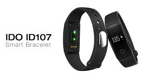bracelet with heart rate images Ido id107 smart bracelet heart rate call reminder pedometer remote jpg