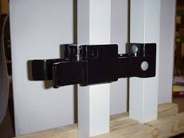strong arm gate latch hoover fence co fence and