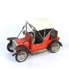 wholesale retro iron bubble car model vintage metal bubble car