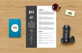 psd resume template find the best photoshop resume template here