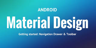 android toolbar tutorial getting started with android app and material design toolbar and