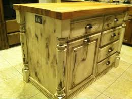 distressed island kitchen before and after of distressed pine kitchen island project