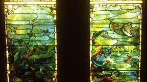 Louis Comfort Tiffany Stained Glass Four Seasors Under The Sea C 1885 1895 Louis Comfort Tiffany 1848