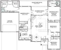 house plans 2 master suites single bedroom home master single home plans blueprints